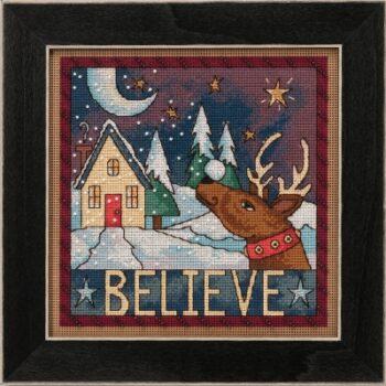 """Набор для вышивания """"Believe • Верить"""" Mill Hill"""