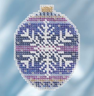 """Набор для вышивания """"Royal Snowflake • Королевская Снежинка"""" Mill Hill"""