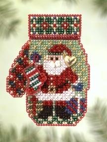 "Набор для вышивания ""Santa's Night • Ночь Санты"" Mill Hill"