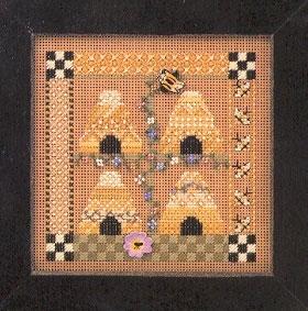 """Набор для вышивания """"Bee Square • Пчелиный дом"""" Mill Hill"""