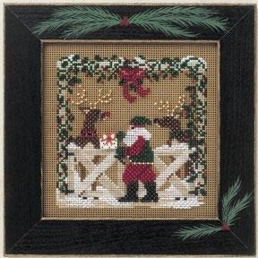 """Набор для вышивания """"Reindeer Ranch • Ранчо оленей"""" Mill Hill"""