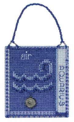 """Набор для вышивания """"Aquarius • Водолей"""" Mill Hill"""