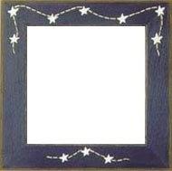 Оригинальная рамка Matte Blue w/Stars & Stitches для наборов Mill Hill