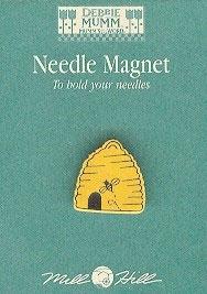 """Магнитный держатель для игл """"Bee Skep • Пчелиный дом"""" Mill Hill"""