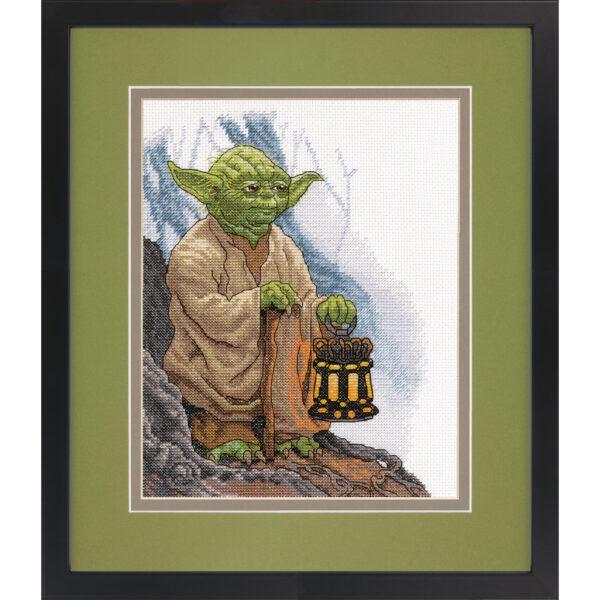 """70-35392 Набор для вышивания крестом """"Star Wars Yoda • Звездные Войны Йода"""" DIMENSIONS"""