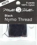 Nymo нитка Черная (8м) 100% Nylon Mill Hill 40219