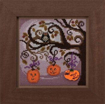 """Набор для вышивания """"Pumpkin Tree • Тыквенное дерево"""" Mill Hill MH142025"""