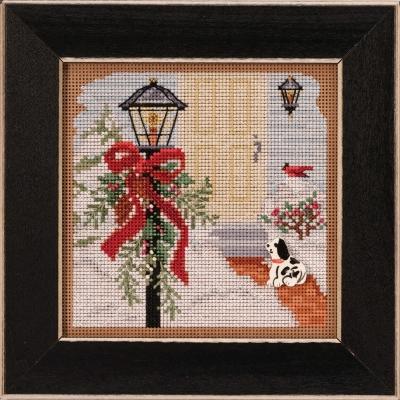 """Набор для вышивания """"Christmas Welcome • Рождественское приветствие"""" Mill Hill MH142031"""