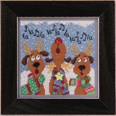 """Набор для вышивания """"Reindeer Chorus • Хор оленей"""" Mill Hill MH142036"""