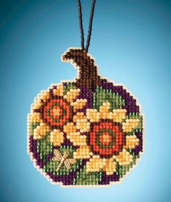 """Набор для вышивания """"Sunflower Pumpkin • Подсолнечная тыква"""" Mill Hill MH162022"""