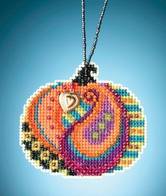 """Набор для вышивания """"Persian Pumpkin • Персидская тыква"""" Mill Hill MH162026"""