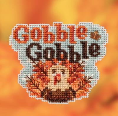 """Набор для вышивания """"Gobble, Gobble • Грызь, грызь"""" Mill Hill MH182022"""