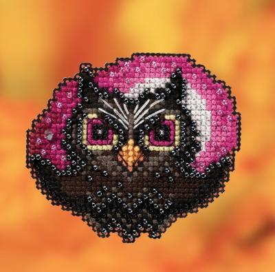 """Набор для вышивания """"Moonlit Owl • Лунная сова"""" Mill Hill MH182023"""