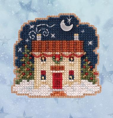 """Набор для вышивания """"Christmas Eve • Сочельник"""" Mill Hill MH182031"""