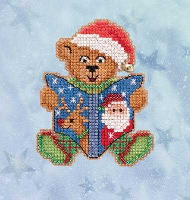 "Набор для вышивания ""Teddy's Tale • Сказка Тедди"" Mill Hill MH182036"