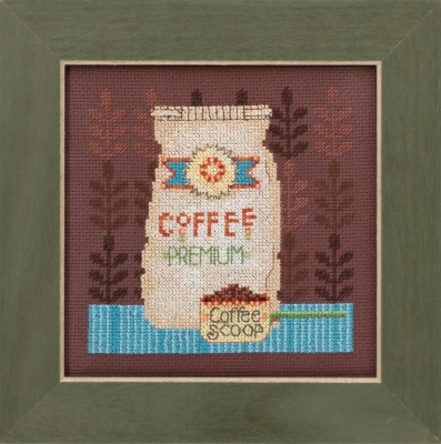 "Набор для вышивания ""Coffee Grounds • Кофейная гуща"" Mill Hill DM301614"
