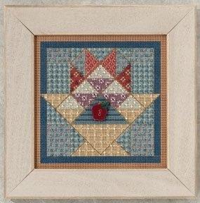"""Набор для вышивания """"Fruit Basket Quilt • Корзина фруктов"""" Mill Hill MH142202"""