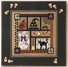 "Набор для вышивания ""Spooky Collage • Жуткий колаж"" Mill Hill MHCB235"