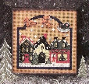 """Набор для вышивания """"Christmas Village • Рождественская деревня"""" Mill Hill MHCB78"""