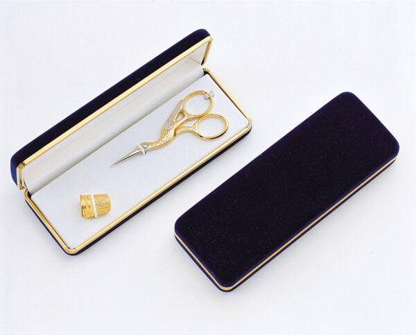 Ножницы в футляре + наперсток 40802 Premax (Италия)
