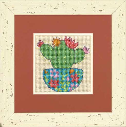 """71-07248 Набор для вышивания гобеленом """"Happy Cactus • Счастливый кактус"""" DIMENSIONS"""
