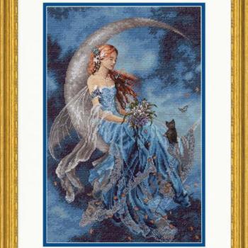 """70-35393 Набор для вышивания крестом """"Wind Moon Fairy • Фея лунного ветра"""" DIMENSIONS"""