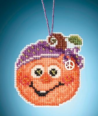 """MH162025 Набор для вышивания """"Hippie Pumpkin • Тыква Хиппи"""" Mill Hill"""