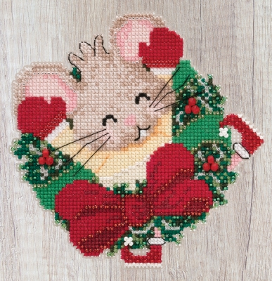 "MH192011 Набор для вышивания ""Patsy Pine • Мишеня Пэтси"" Mill Hill"