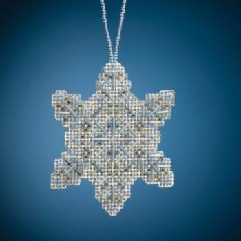 """MH212011 Набор для вышивания """"Crystal Snowflake • Хрустальная снежинка"""" Mill Hill"""