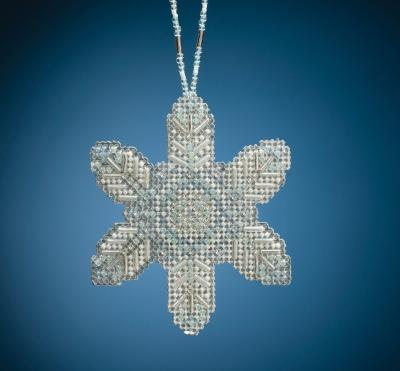 "MH212013 Набор для вышивания ""Opal Ice Snowflake • Ледяная снежинка"" Mill Hill"