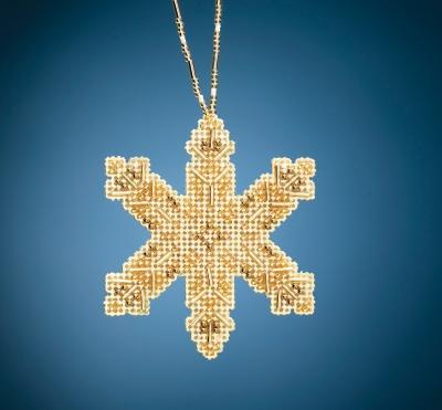 "MH212014 Набор для вышивания ""Victorian Snowflake • Викторианская снежинка"" Mill Hill"