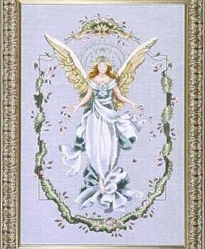 "Схема ""Angel Of The New Dawn • Ангел Нового Рассвета"" Mirabilia Designs MD65"