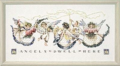 "Схема ""Angel Proclamation • Провозглашение ангела"" Mirabilia Designs MD25"