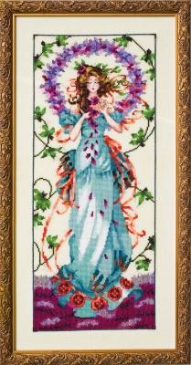 "Схема ""Blossom Goddess • Богиня процветания"" Mirabilia Designs MD146"