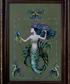 "Схема ""Bluebeards Princess Mirabella • Принцесса Мирабелла"" Mirabilia Designs MD98"