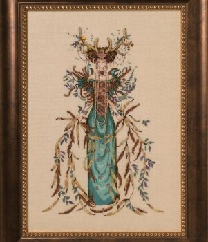 "Схема ""Cathedral Woods Goddess • Богиня леса"" Mirabilia Designs MD164"