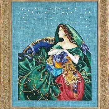 """Схема """"Christmas Elegance • Рождественская элегантность"""" Mirabilia Designs MD6"""