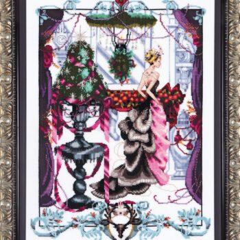 "Схема ""Christmas in London • Рождество в Лондоне"" Mirabilia Designs MD136"