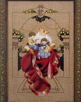 "Схема ""Christmas Wishes • Рождественские пожелания"" Mirabilia Designs MD61"