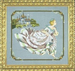 """Схема """"Cinderella • Золушка"""" Mirabilia Designs MD69"""