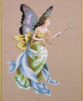 """Схема """"Cottage Garden Fairy • Садова Фея"""" Mirabilia Designs MD63"""