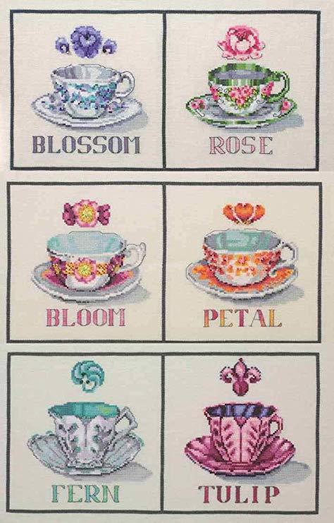 """Схема """"Cream & Sugar Collection • Коллекция Крем и Сахар"""" Nora Corbett NC212P"""