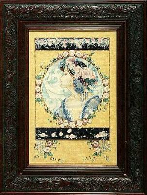 "Схема ""English Roses • Английские розы"" Mirabilia Designs MD14"