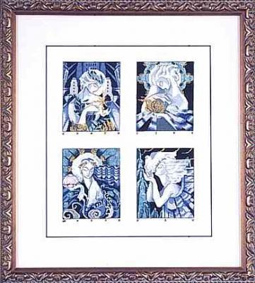 "Схема ""Deco Spirits • Духи Деко"" Mirabilia Designs MD19"