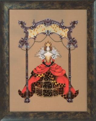 """Схема """"The Queen Bee • Королева пчел"""" Mirabilia Designs MD171"""