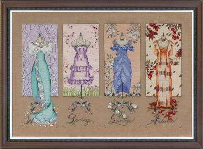 "Схема ""Dressmakers' Daughter • Дочь портнихи"" Mirabilia Designs MD121"