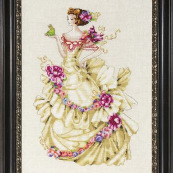 "Схема ""Ella, The Frog Princess • Элла, Принцесса-лягушка"" Mirabilia Designs MD129"