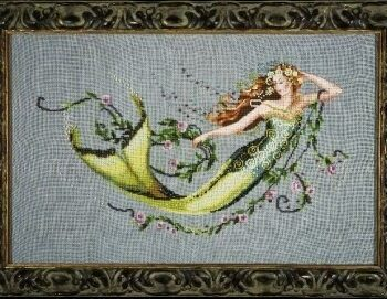 "Схема ""Emerald Mermaid • Изумрудная Русалка"" Mirabilia Designs MD77"