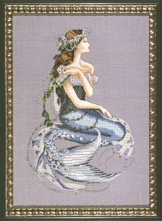 "Схема ""Enchanted Mermaid • Зачарованная Русалка"" Mirabilia Designs MD84"