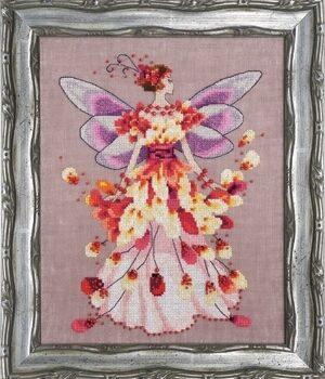 """Схема """"Faerie Spring Fling • Пружинящий"""" Nora Corbett NC201"""